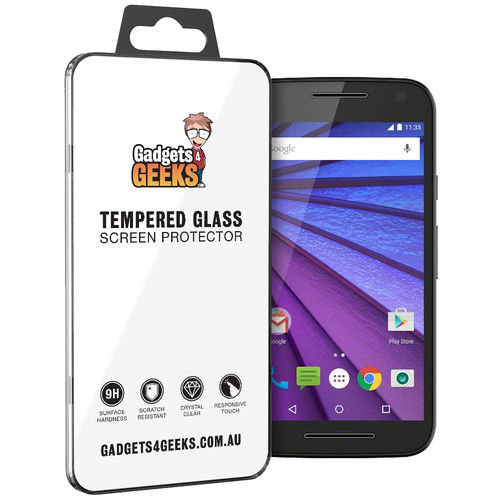 9H Tempered Glass Screen Protector for Motorola Moto G (3rd Gen)